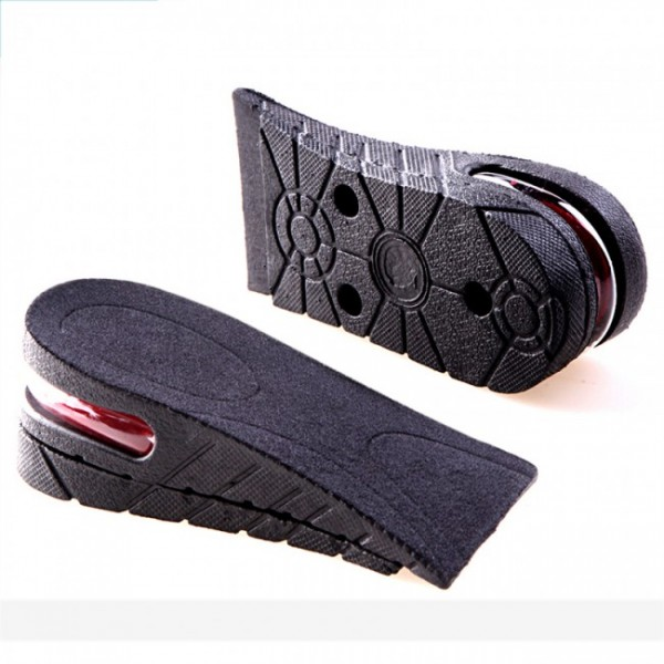 Unisex 3CM - 7.5CM Half Height Increasin Insoles Adjustable Elevator Shoes
