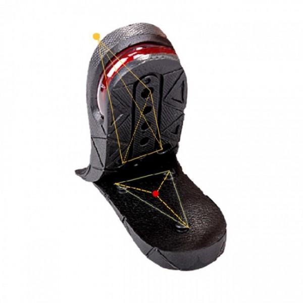 Unisex 3CM - 7.5CM Half Height Increasin Insoles Adjustable Elevator Shoes