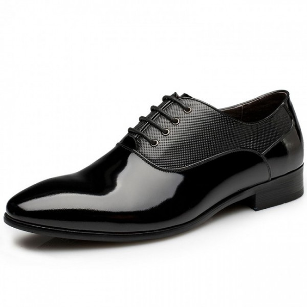Men Luxury 2.36Inches/6CM Elevator Marriag Business Formal Oxford Shoes