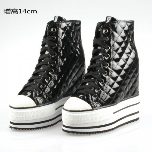 Women 4.7Inches/12CM - 5.5Inches/14CM Korean Flange Elevator Shoes